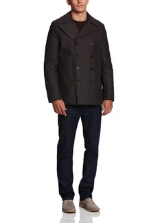 French Connection Men's Peach Pie Twill FC Peacoat