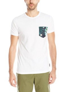 French Connection Men's Penthouse Pocket Short Sleeve T-Shirt