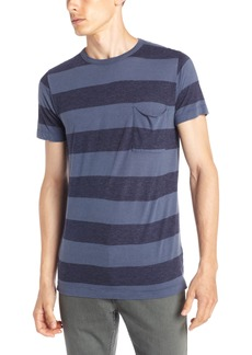 French Connection Men's Pigment Yarn Dyed Tee