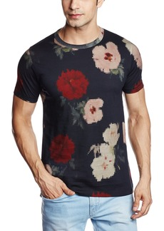 French Connection Men's Pixel Peonie Jersey T-Shirt