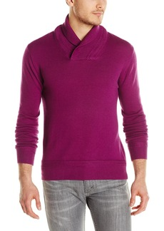 French Connection Men's Racked Wrap Wool Funnel Jumper Sweater