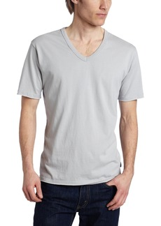 French Connection Men's Raw Surplus Short Sleeve V-Neck Top