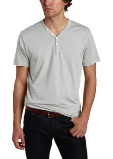 French Connection Men's Raw Surplus Short Sleeve Y-Neck Shirt