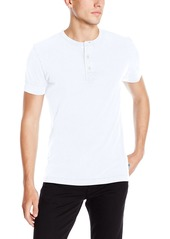 French Connection Men's Restart Henley Short Sleeve Shirt