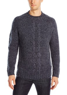 French Connection Men's Ridge Cable Sweater  M