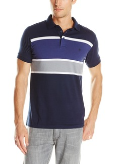 French Connection Men's Rifle Engineered Polo