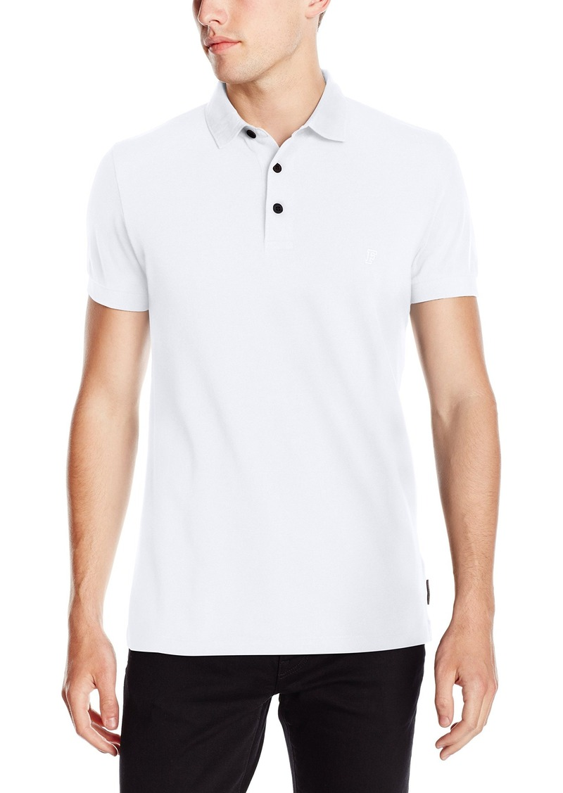French Connection Men's Scattershield Light Pique Polo Shirt