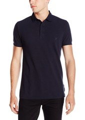 French Connection Men's Scattershield Light Pique Polo Shirt Marine Blue