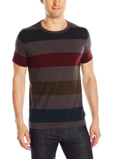 French Connection Men's Shatter Stripe Tee T-Shirt  L