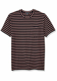 French Connection Men's Short Sleeve Crew Neck Cotton T-Shirt  L