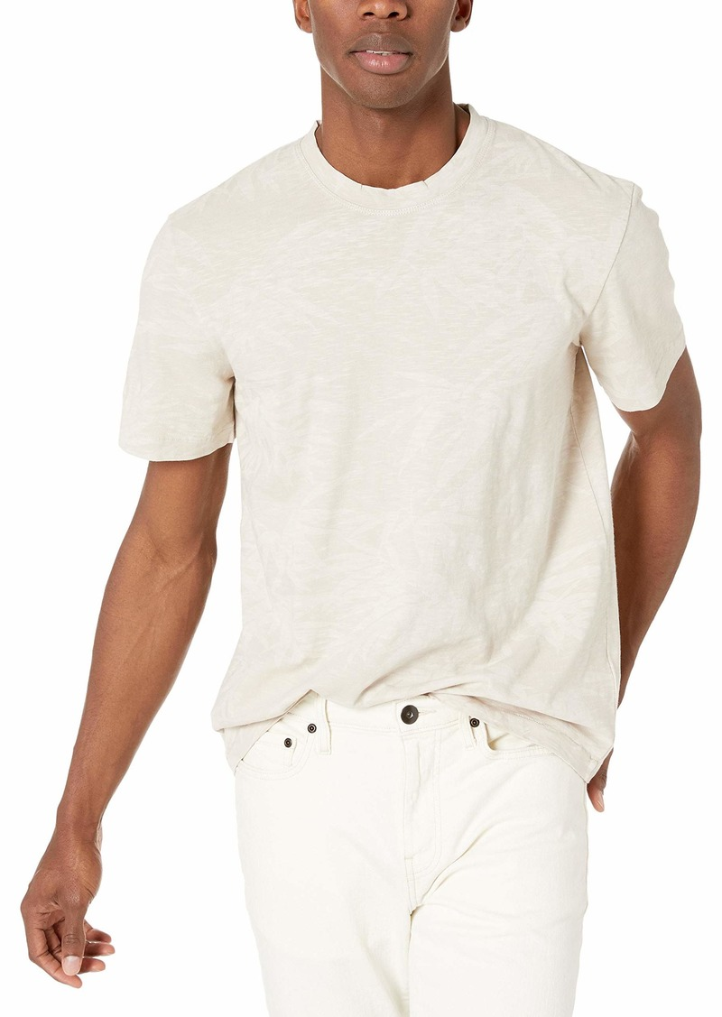 French Connection Men's Short Sleeve Crew Neck Printed Cotton T-Shirt  M