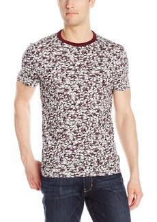 French Connection Men's Short Sleeve Crew Neck Printed Cotton T-Shirt  XL