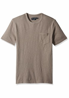 French Connection Men's Short Sleeve Crew Neck Regular Fit T-Shirt  L