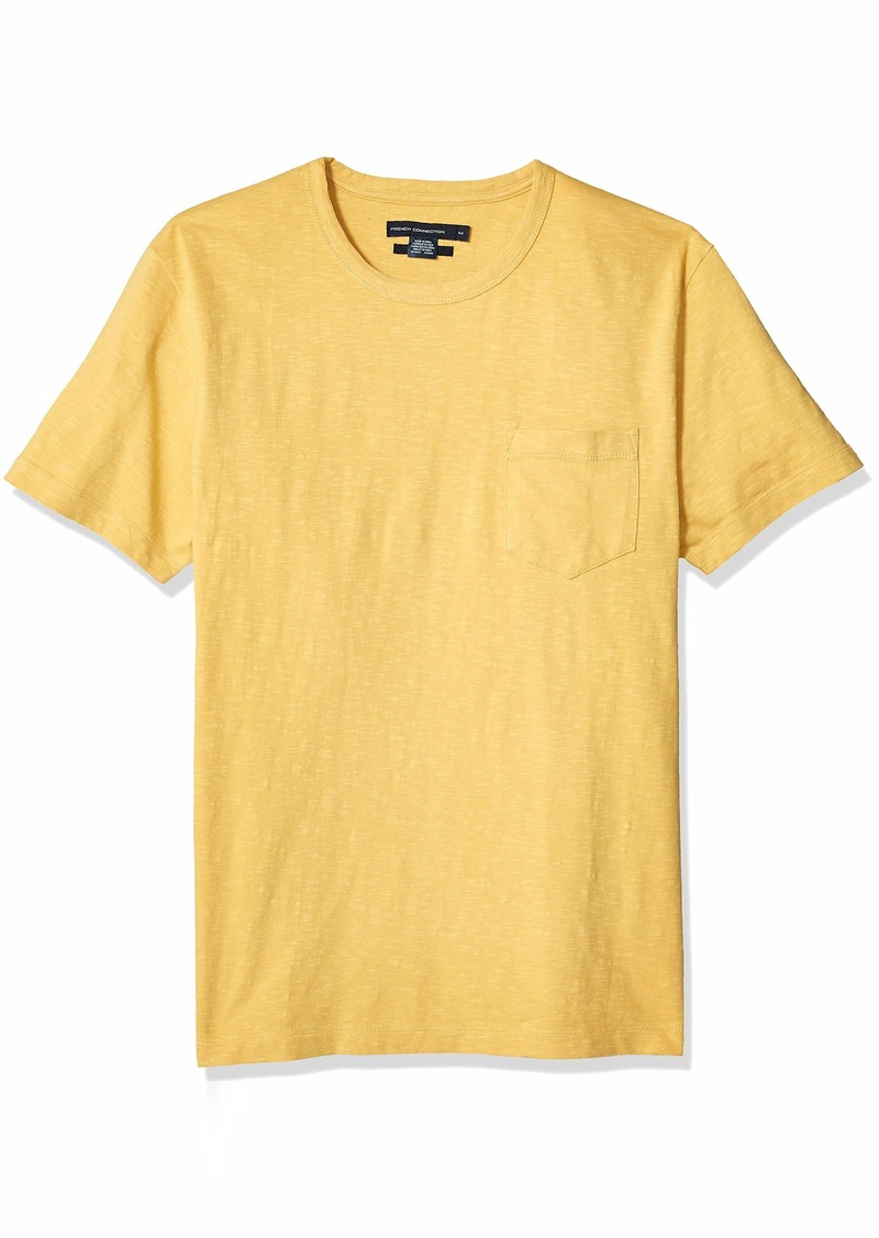 French Connection Men's Short Sleeve Crew Neck Regular Fit T-Shirt  XXL