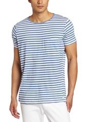 French Connection Men's Short Sleeve Livingstone Stripe T-Shirt
