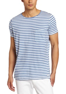 French Connection Men's Short Sleeve Livingstone Stripe T-Shirt
