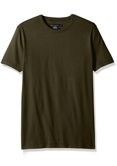French Connection Men's Short Sleeve Slim Fit Solid Color Crew Neck T-Shirt  M
