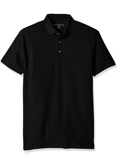 French Connection Men's Short Sleeve Solid Color Regular Fit Polo Shirt  XL