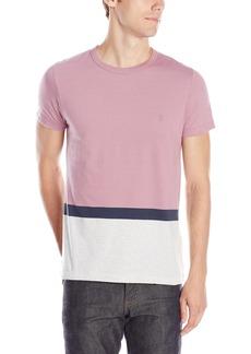 French Connection Men's Stockwood Engineered Stripe Short Sleeve T-Shirt