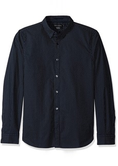 French Connection Men's Summer Dot Shirt  L