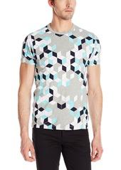 French Connection Men's Super Arri Geo T-Shirt