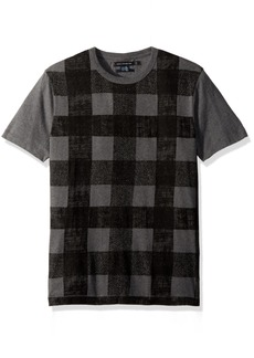 French Connection Men's Texas Check T Shirt  XXL