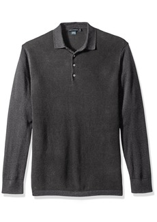 French Connection Men's Textured Knit Polo  S