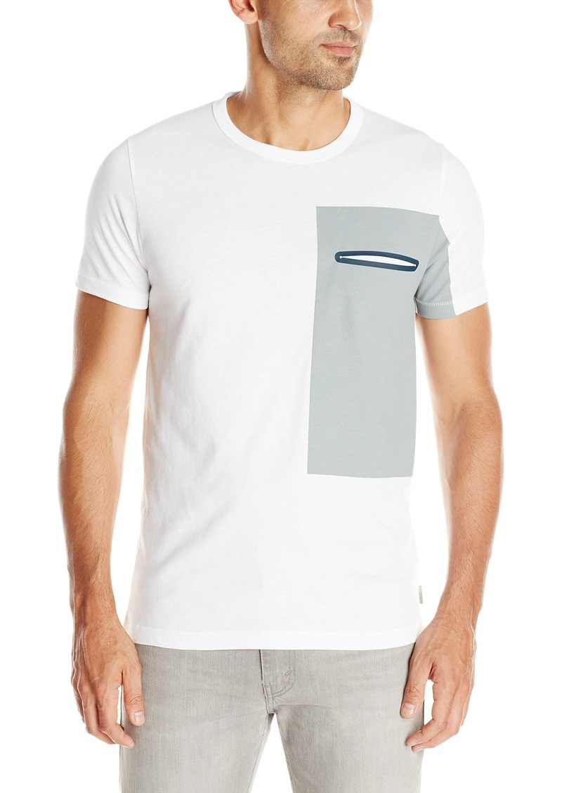 French Connection Men's Thruster Tee T-Shirt White/Griffin XXL