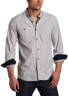 French Connection Men's Toukotsu Long Sleeve Button-Front Shirt