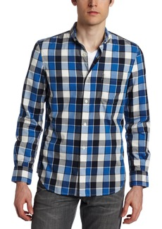 French Connection Men's Twin Lens Check Shirt