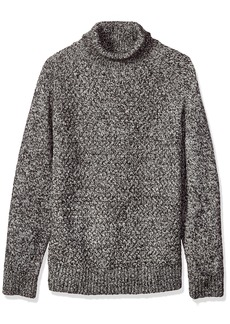 French Connection Men's Twisted Cable Turtleneck Sweater  XL