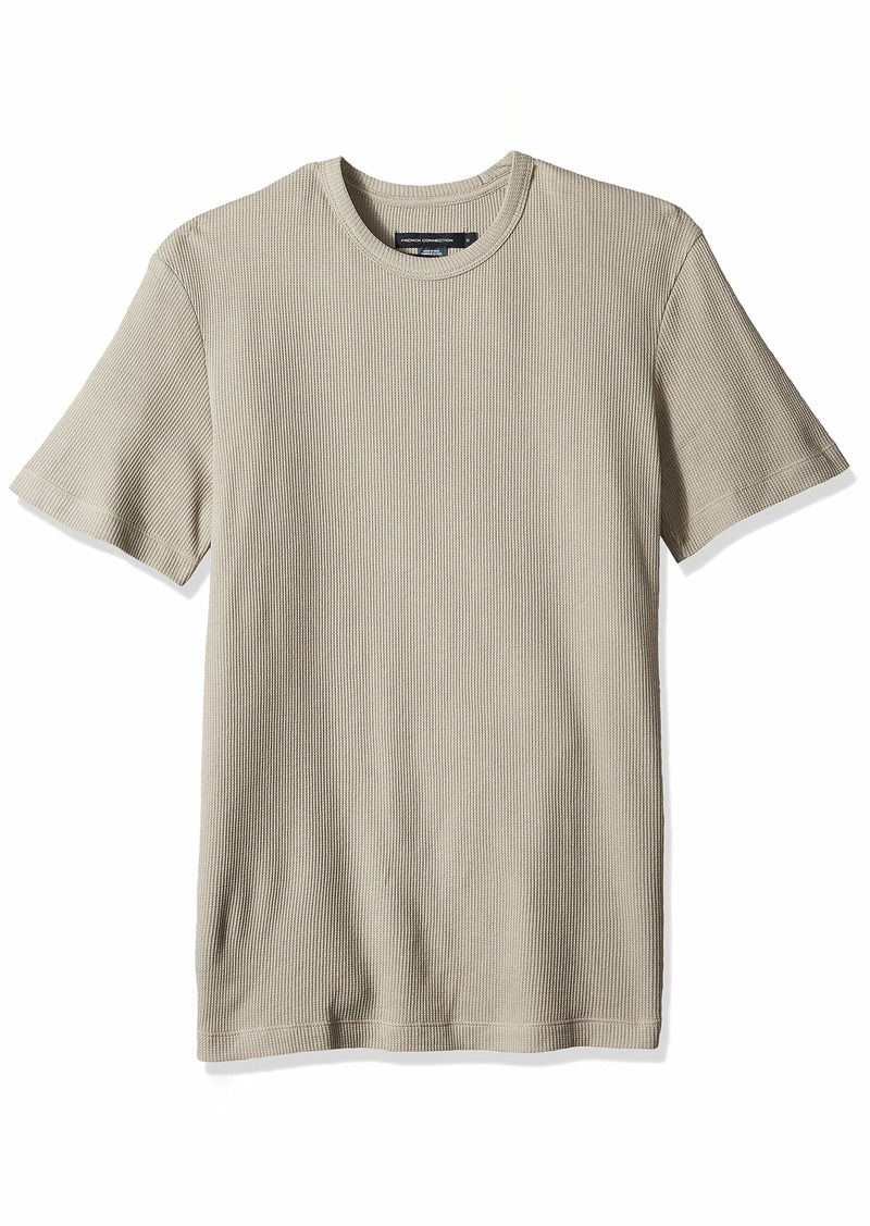 French Connection Men's Waffle Jersey Tee  XXL