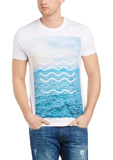 French Connection Men's Waves Jersey Tee