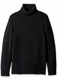 French Connection Men's Wool Long Sleeve Sweater Black M