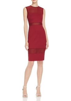 FRENCH CONNECTION Mesh Inset Dress - 100% Bloomingdale's Exclusive