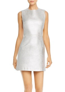 FRENCH CONNECTION Metallic Sundae Mini Dress