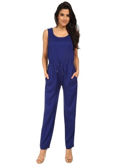 French Connection Miami Drape Jumpsuit 7GDAJ