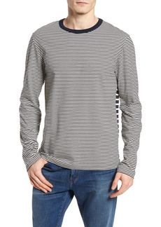 French Connection Mix Stripe Long Sleeve T-Shirt
