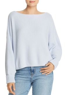 FRENCH CONNECTION Moss Stitch Mozart Honeycomb Knit Sweater