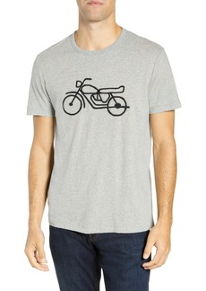 French Connection Motorcycle Regular Fit Cotton T-Shirt