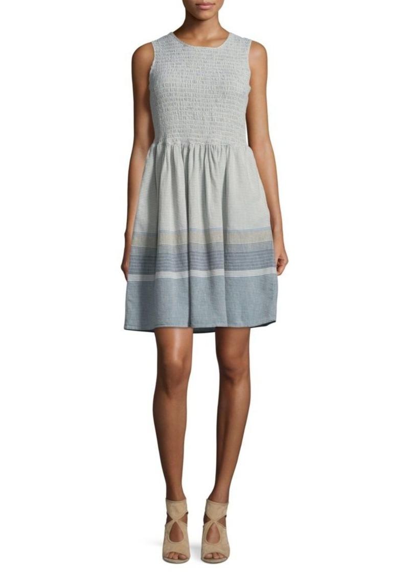 French Connection Mryan Stripe Mini Dress