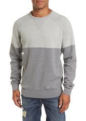 French Connection Multi Mélange Colorblock Sweatshirt