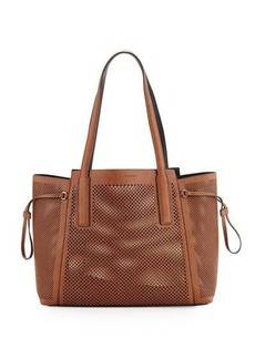 French Connection Nadia Laser-Cut Tote Bag