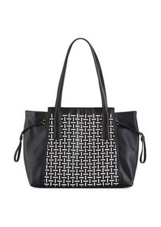 French Connection Nadia Two-Tone Tote Bag