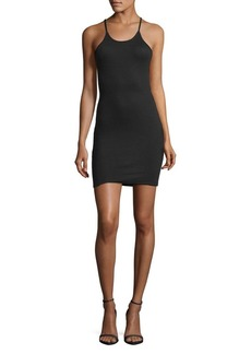 French Connection Nikki Acid Tommy Ribbed Dress