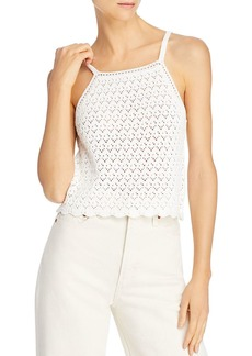 FRENCH CONNECTION Nora Crochet Cotton Tank Top - 100% Exclusive