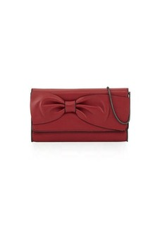 French Connection Olivia Bow-Embellished Clutch Bag