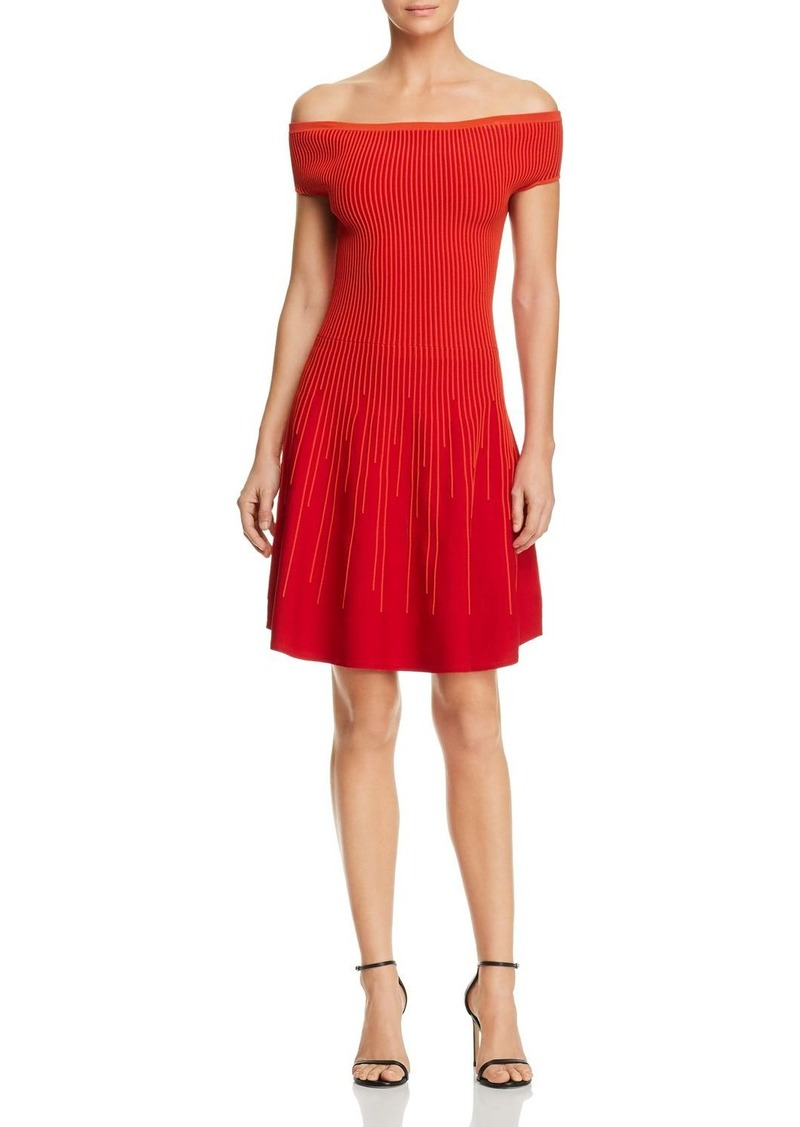 FRENCH CONNECTION Olivia Off-the-Shoulder Dress