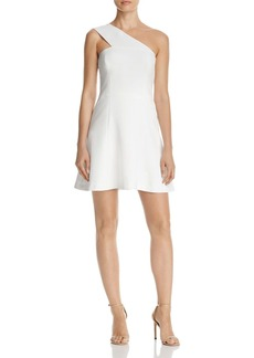 FRENCH CONNECTION One-Shoulder Mini Dress