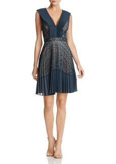 French Connection Orabelle Crocheted Lace Dress
